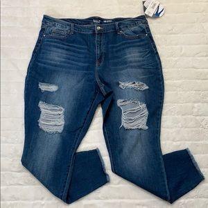 Denim - NWT Distressed Jeans